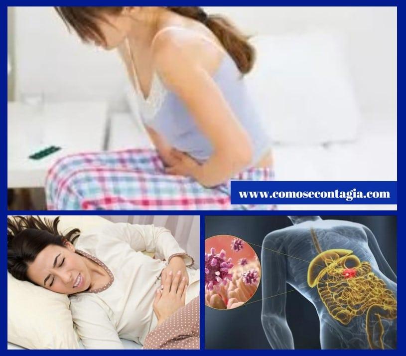 Como se contagia la gastroenteritis de una persona a otra