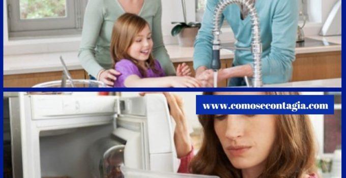 Como se contagia la salmonelosis de una persona a otra
