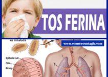 Como se contagia la tos ferina causas