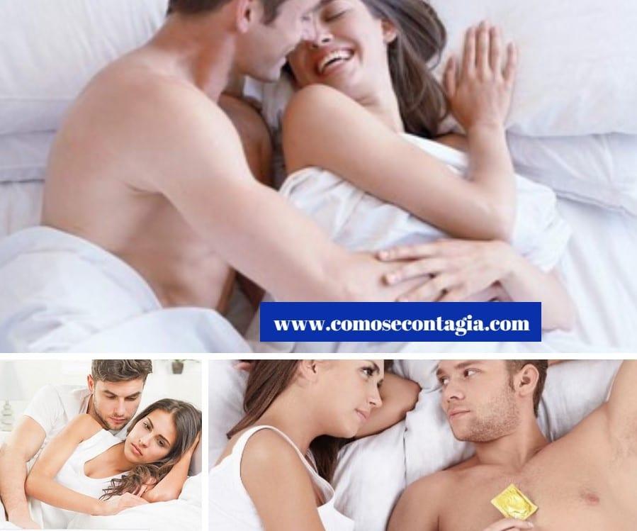 Como se contagian las enfermedades de transmisión sexual