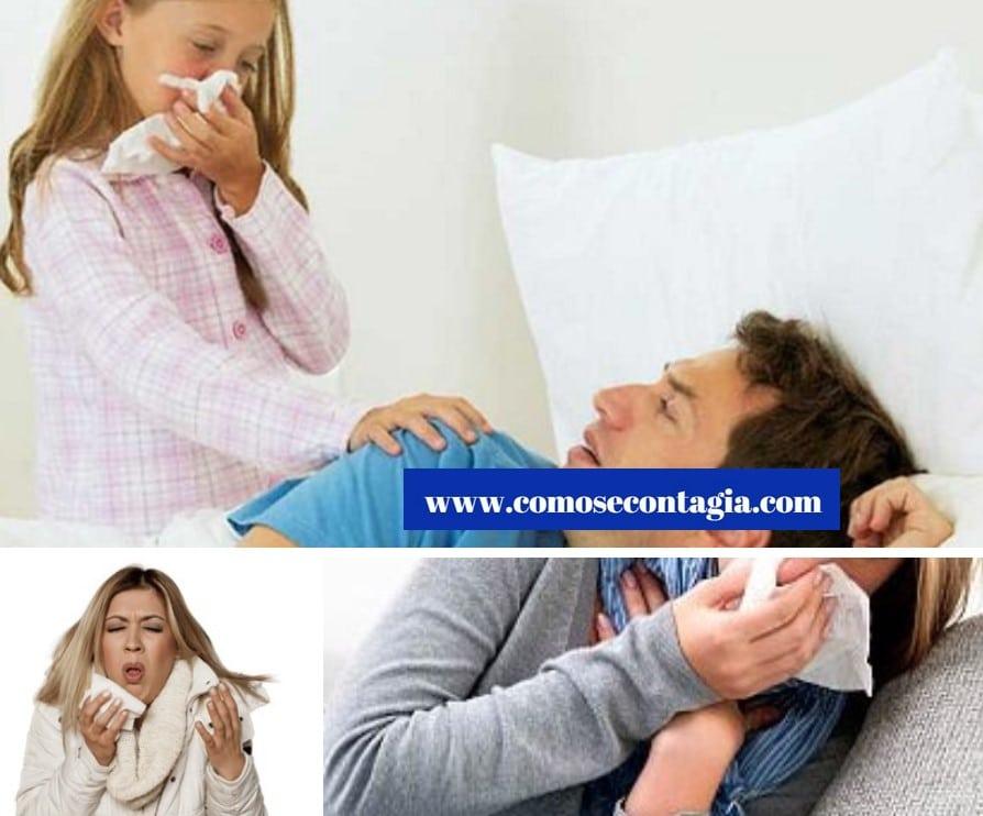 Como se contagian las enfermedades respiratorias
