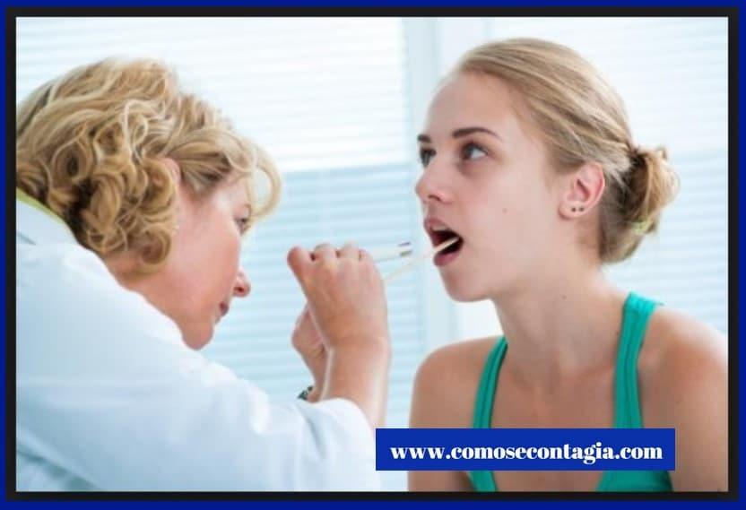 Que se contagia por la saliva | enfermedades salivales