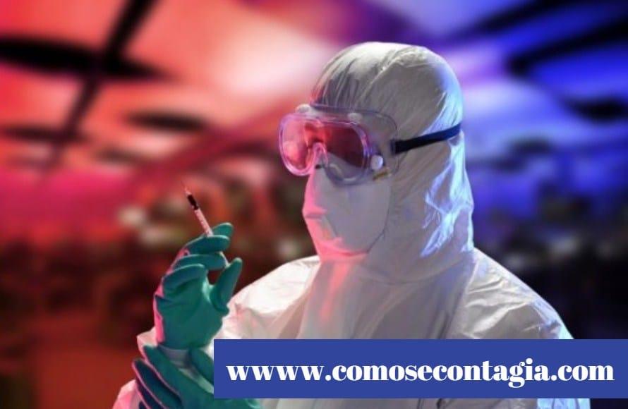 Como se contagia el ébola