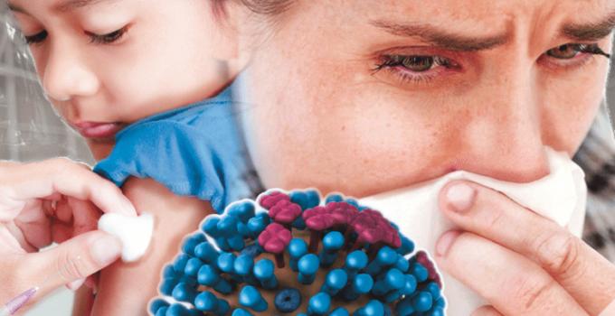 como se contagia la influenza